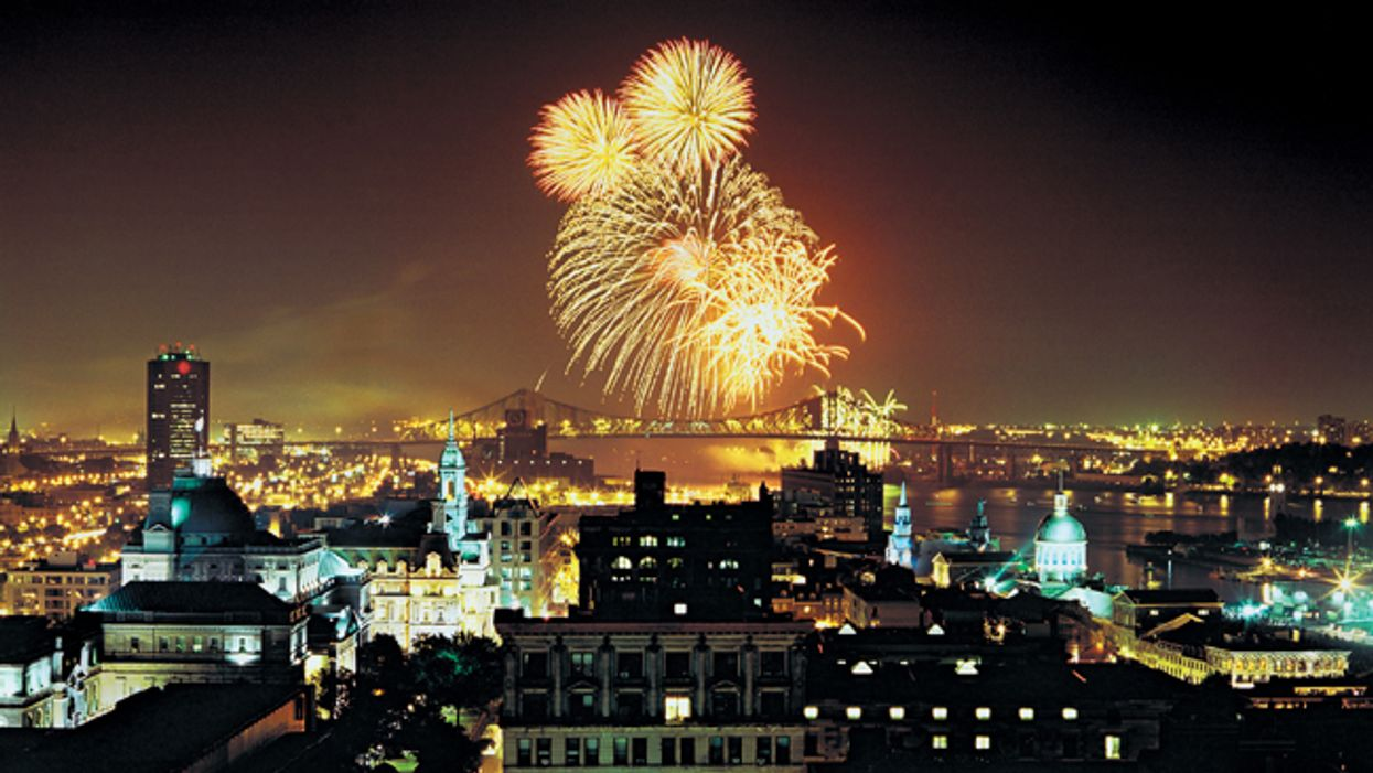 Montreal's 2014 International Fireworks Competition Begins This Weekend