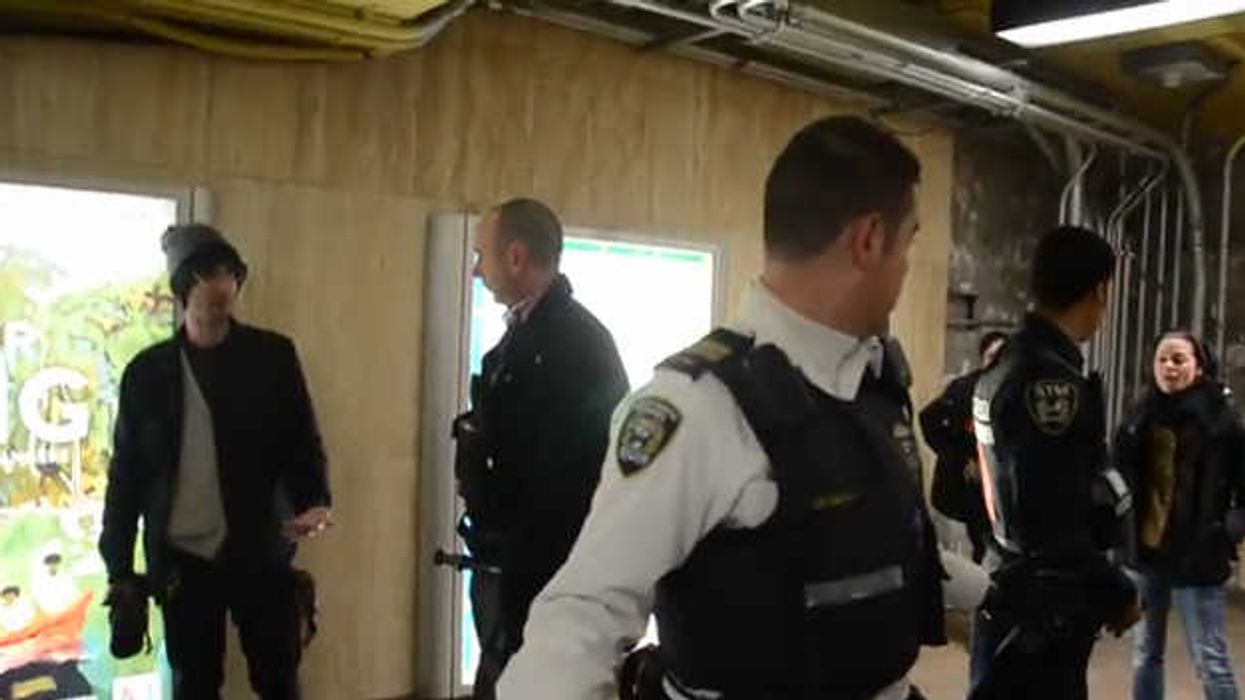 Montrealer Films STM Cops & SPVM Team Up And Take Down A Group Of Teenagers