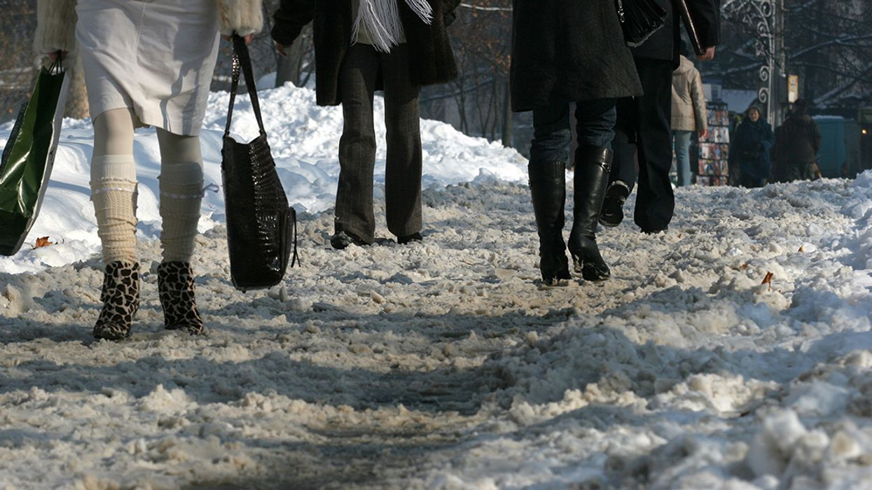 10 Ways To Not Slip And Kill Yourself In Montreal Today