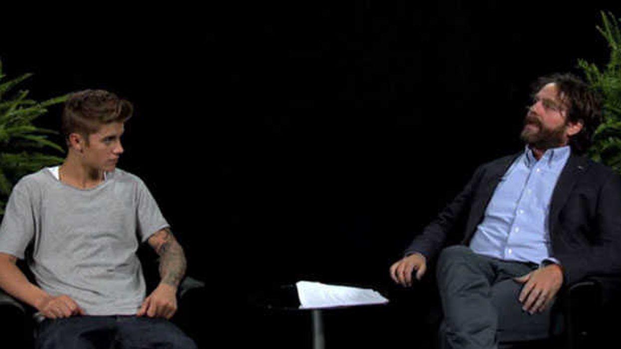 Zach Galifianakis Vs Justin Bieber Interview Is Un-Bielebably Hilarious
