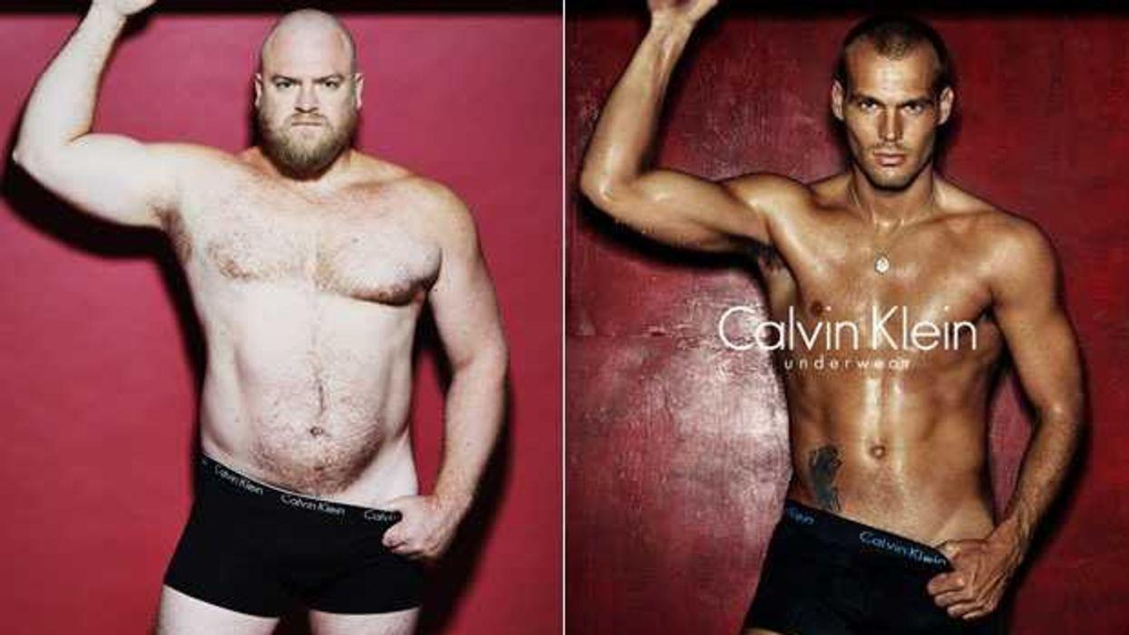 What Men Really Look Like In Designer Underwear Ads