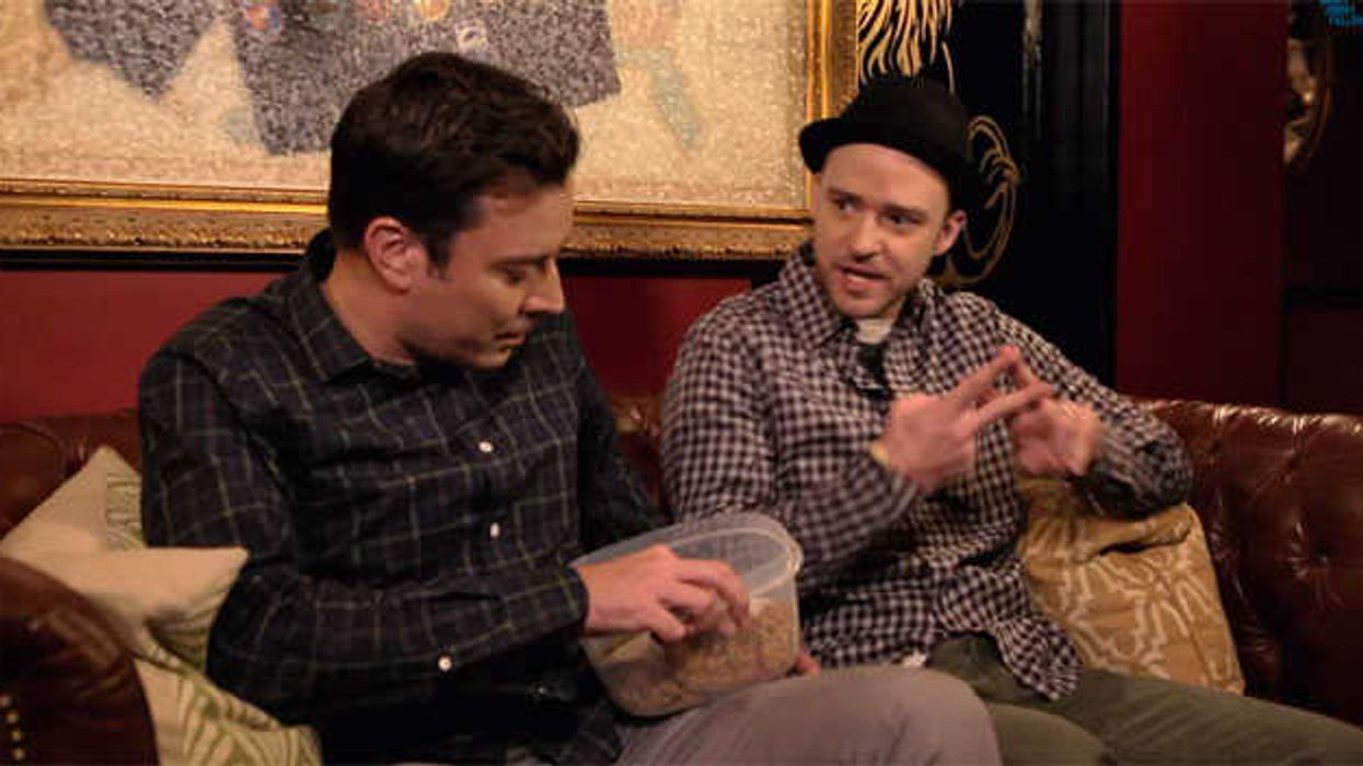 Justin Timberlake And Jimmy Fallon Demonstrate How Stupid #Hashtags Are
