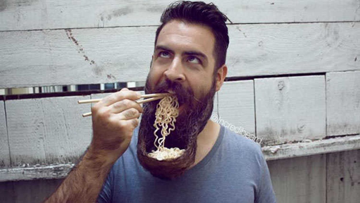 This Is The Ramen Beard Bowl