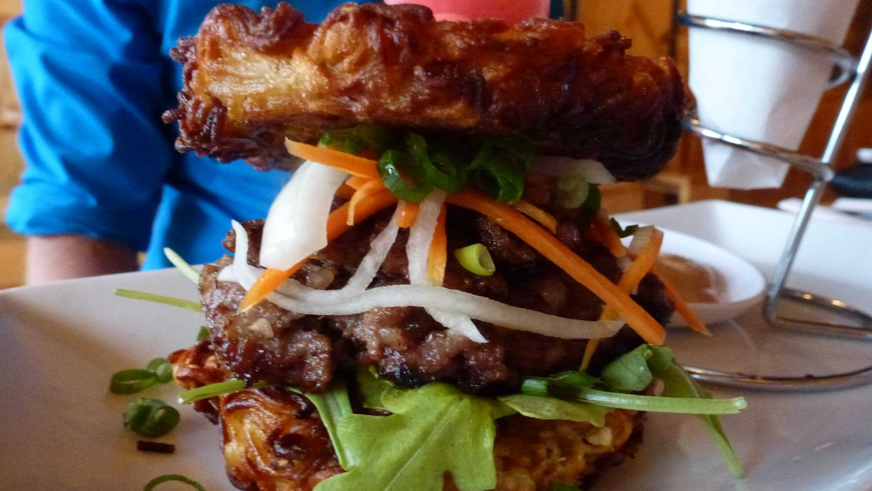 Ramen Noodle Burgers By Tkrestobar Will Leave You Speechless