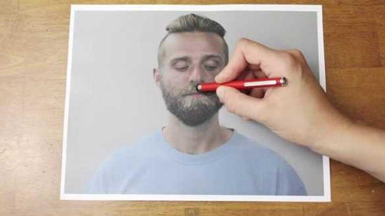 Haircut With A Magic Pen