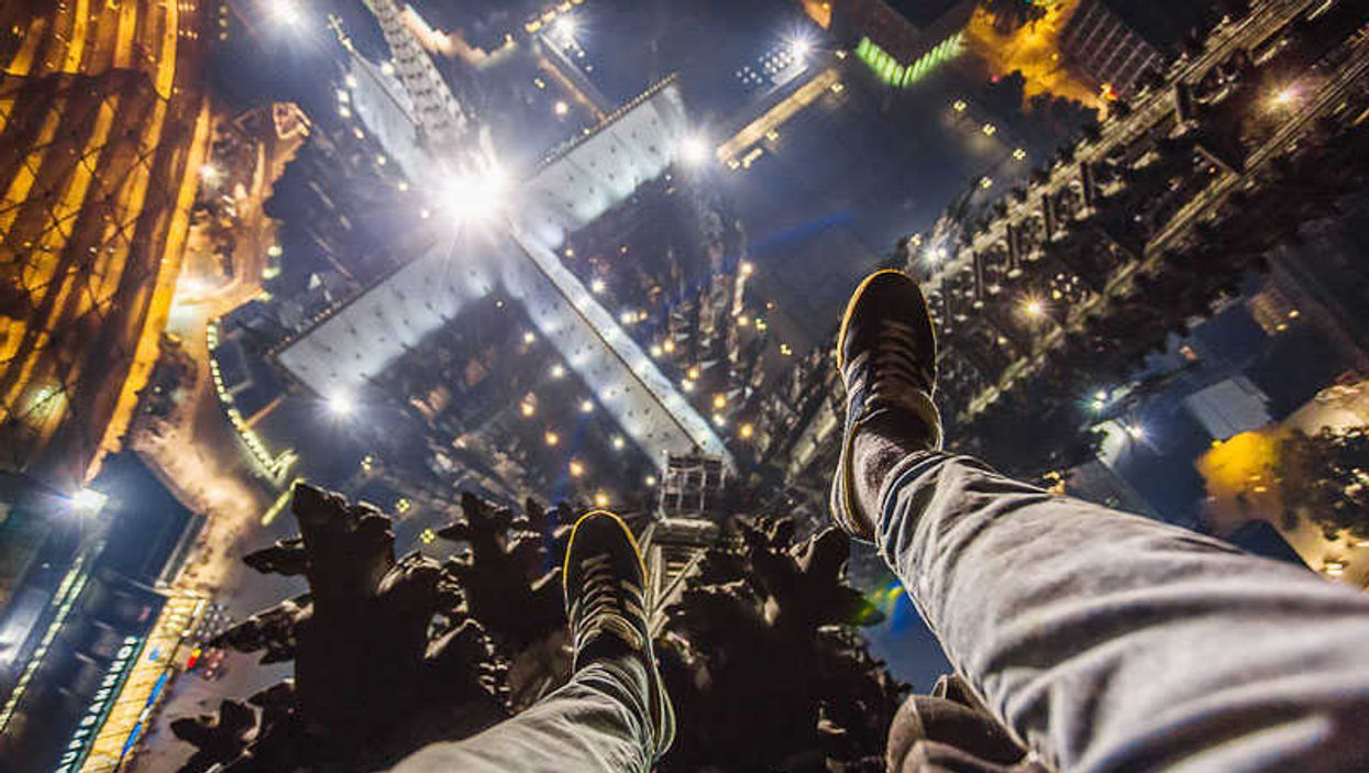 Insane Russian Kid Climbers Take Pictures From The Top Of European Landmarks