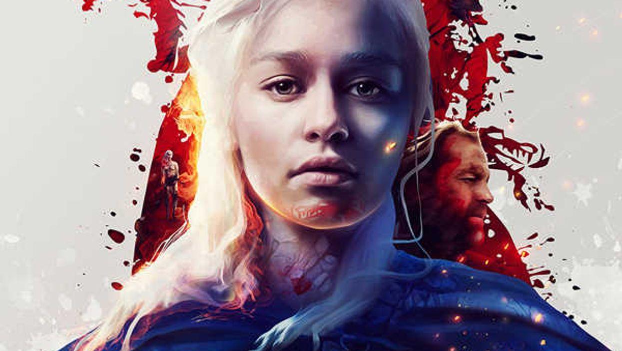Game Of Thrones Custom Artwork That Shatters Belief
