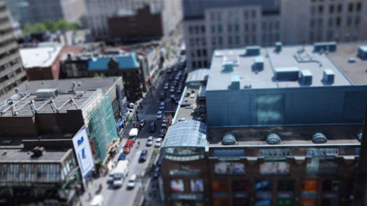Montreal From Above Makes Everything Look Miniature