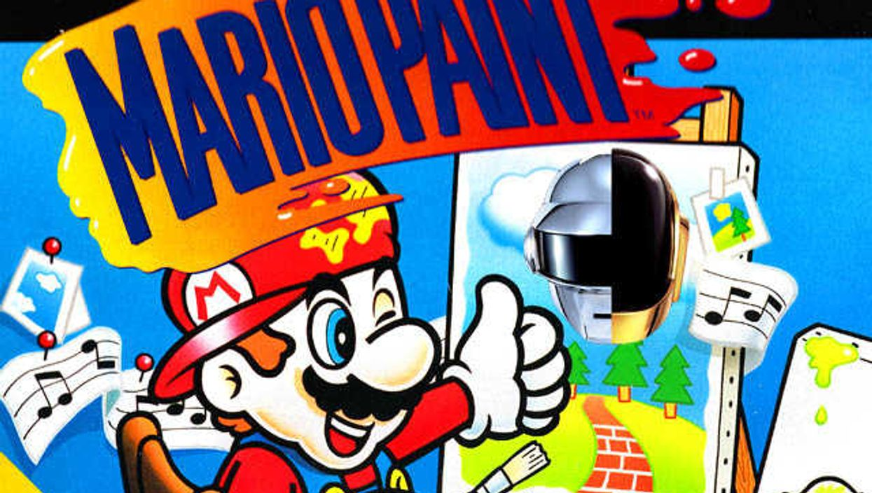 """Daft Punk And Nintendo Team Up For """"Get Lucky"""" Retro Mix"""