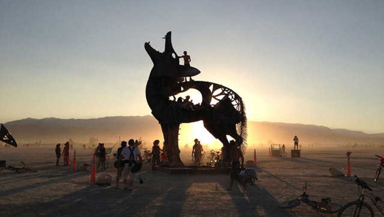 25 Pictures From Burning Man 2013 That Bend Reality