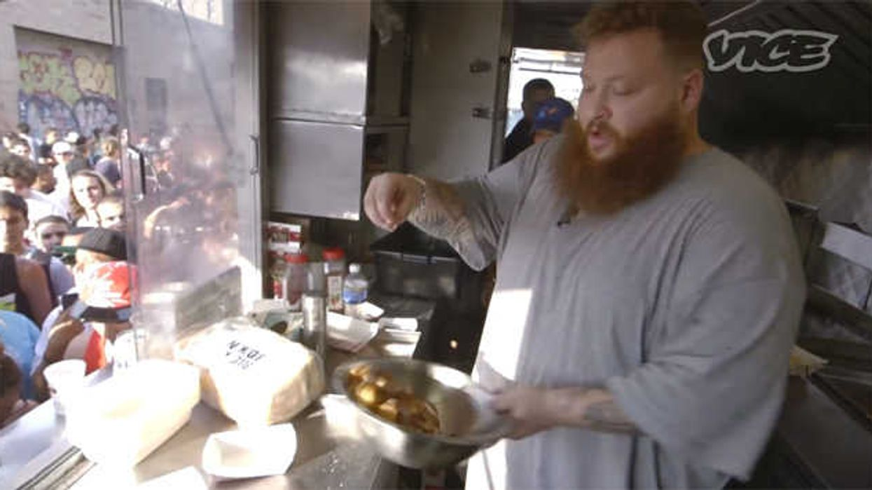 Action Bronson And Vice Team Up To Make A 'Bronson Burger'