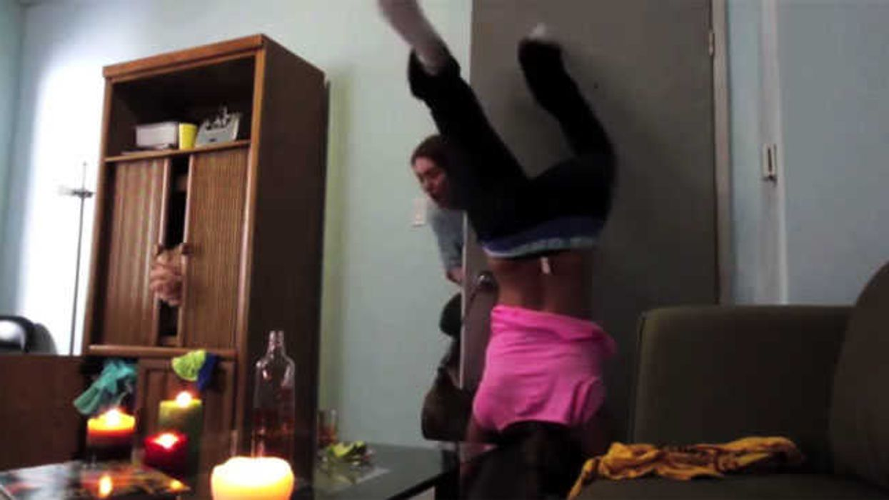 """Girl Catches On Fire After """"Twerking"""""""