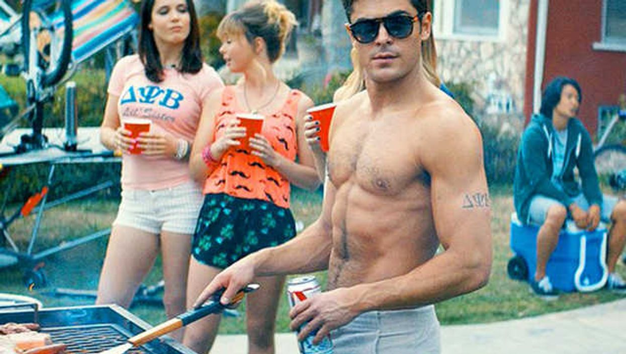"""Seth Rogen, Zac Efron & Dave Franco Face Off In The New Movie Trailer For """"Neighbors"""""""