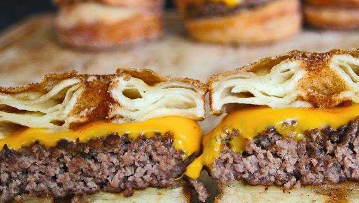 The Cronut Burger Is The Next Food Evolution In Sweet With Meat
