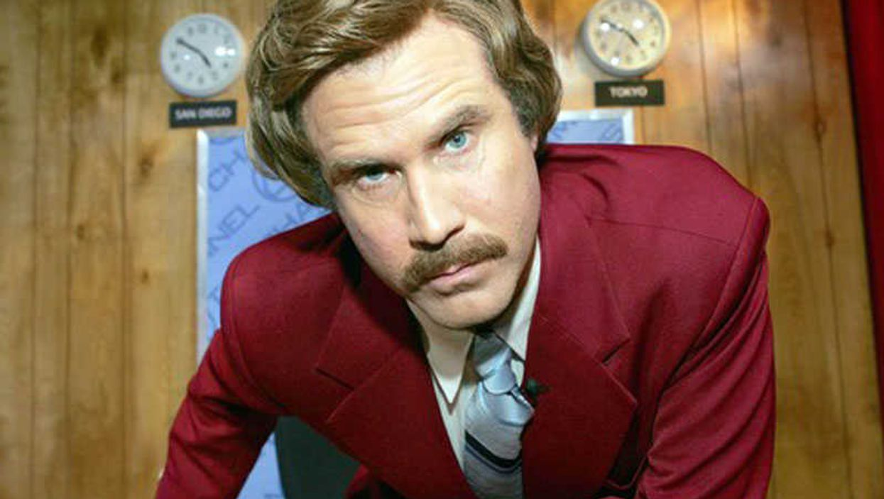 Ron Burgundy To Release His Own Autobiography! No Joke!