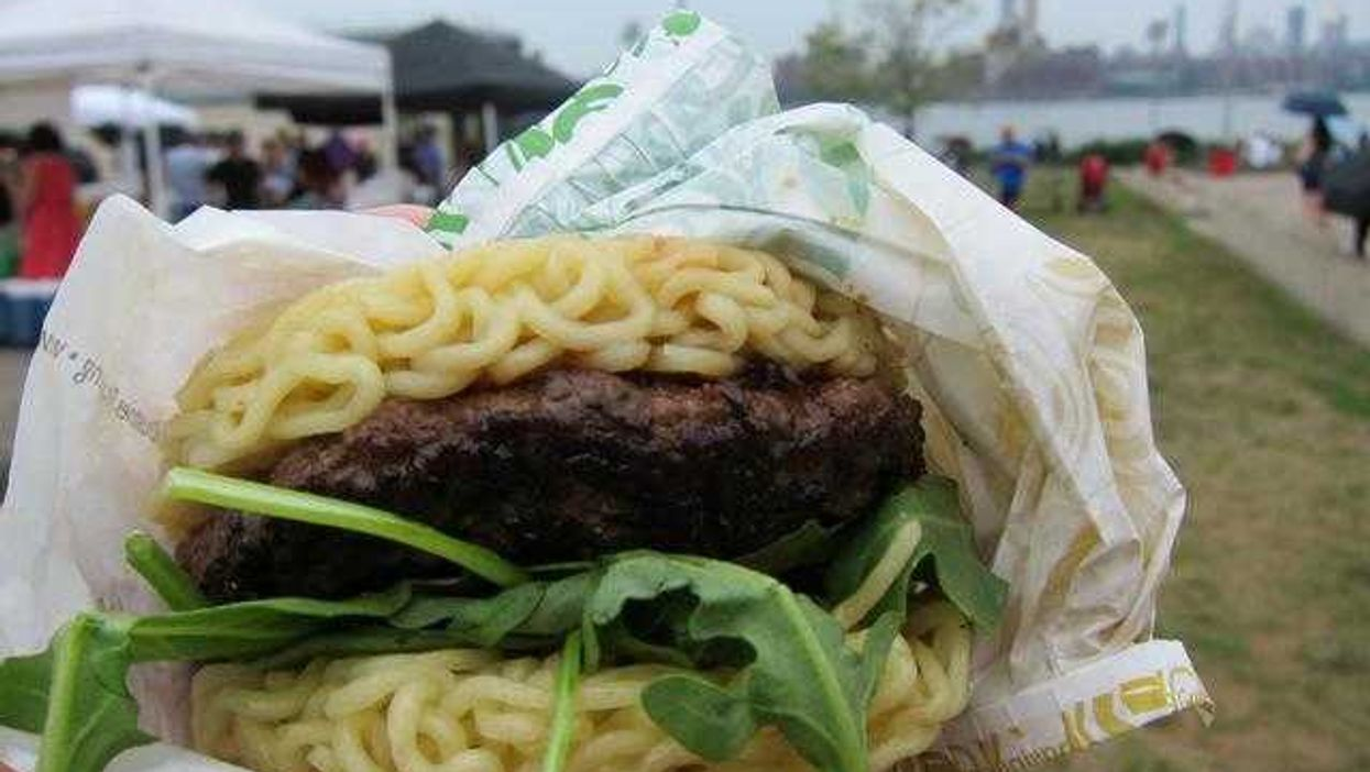 'The Ramen Burger' Induces Culinary Worlds To Collide