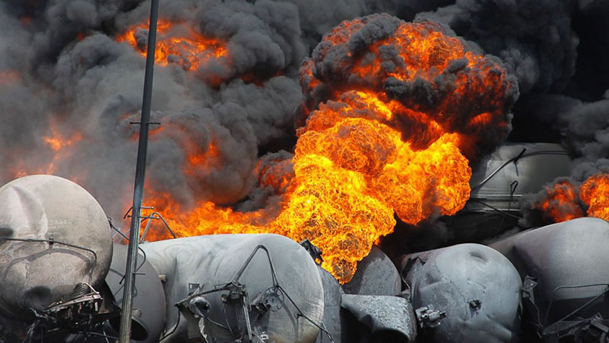 The Most Graphic Pictures From The Lac-Mégantic Deadly Explosion