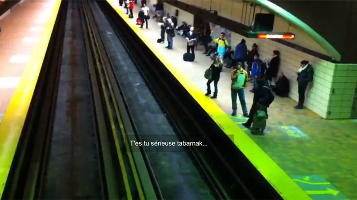 Montreal STM Metro Rage