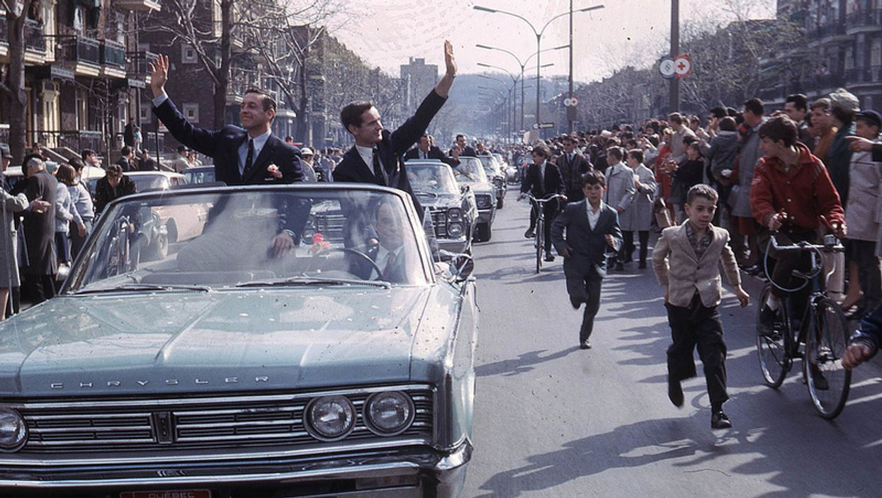 20 Pictures From The 1966 Montreal Canadiens Stanley Cup Parade On Sainte-Catherine Street