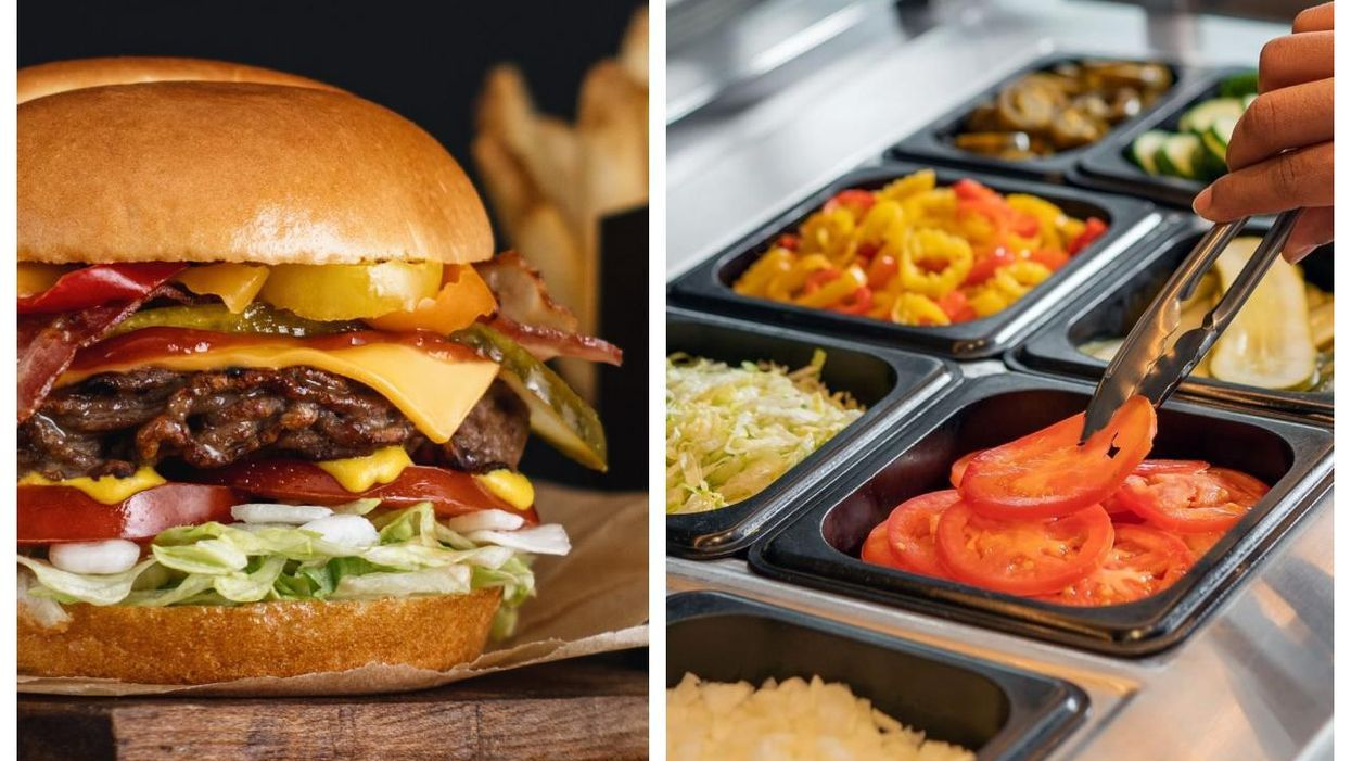 This Customizable Burger Is Super Decadent & It's Available In Quebec