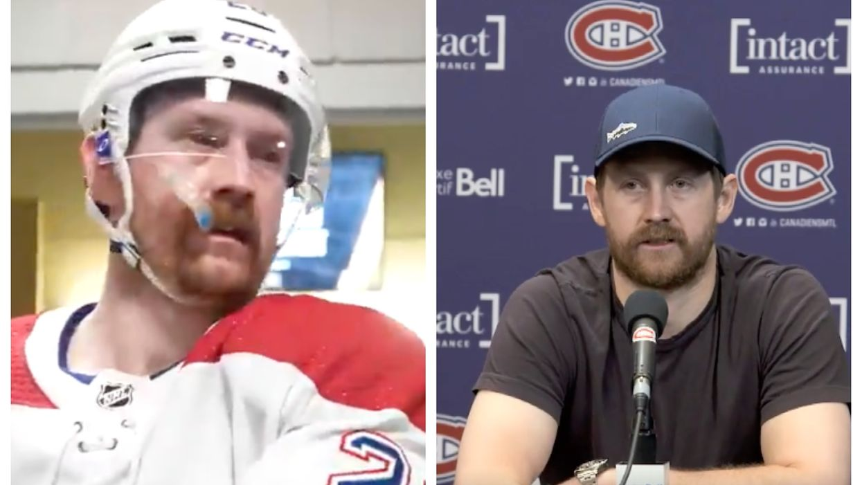 Jeff Petry Finally Explained The Reason For His Bloodshot Eyes
