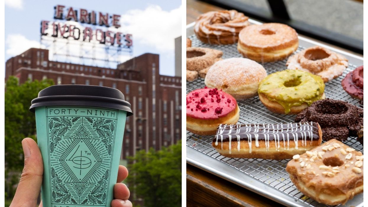 This New Montreal Café Is Giving Away FREE Donuts On Its Opening Day This Friday