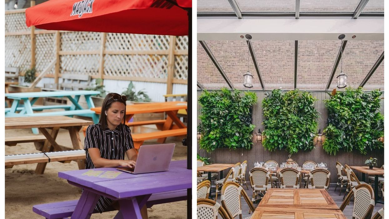 Some Of Montreal's Most Beautiful Bars & Terrasses Are Turning Into Part-Time Workspaces
