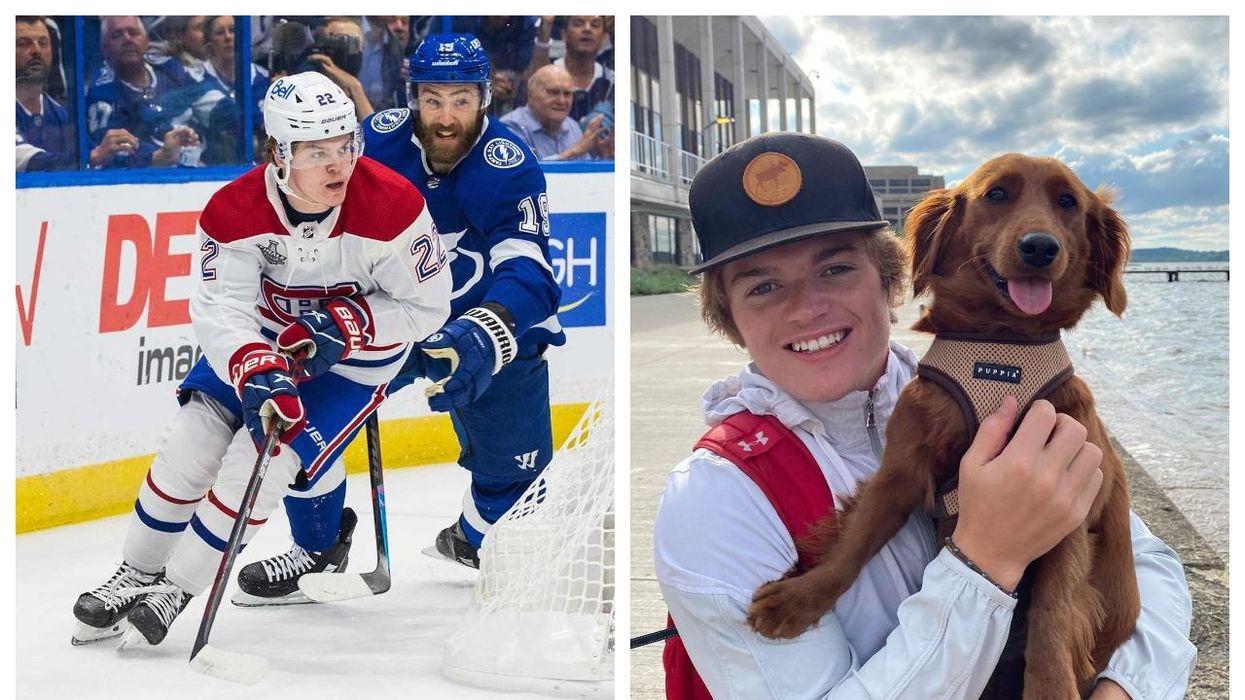 Cole Caufield's Cute Tiny Dog Has Instagram (PHOTOS)