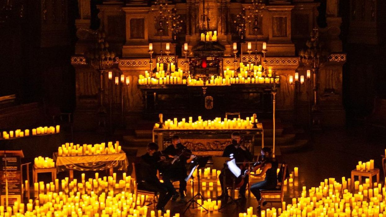A Montreal Church Is Hosting Halloween Candlelight Concerts