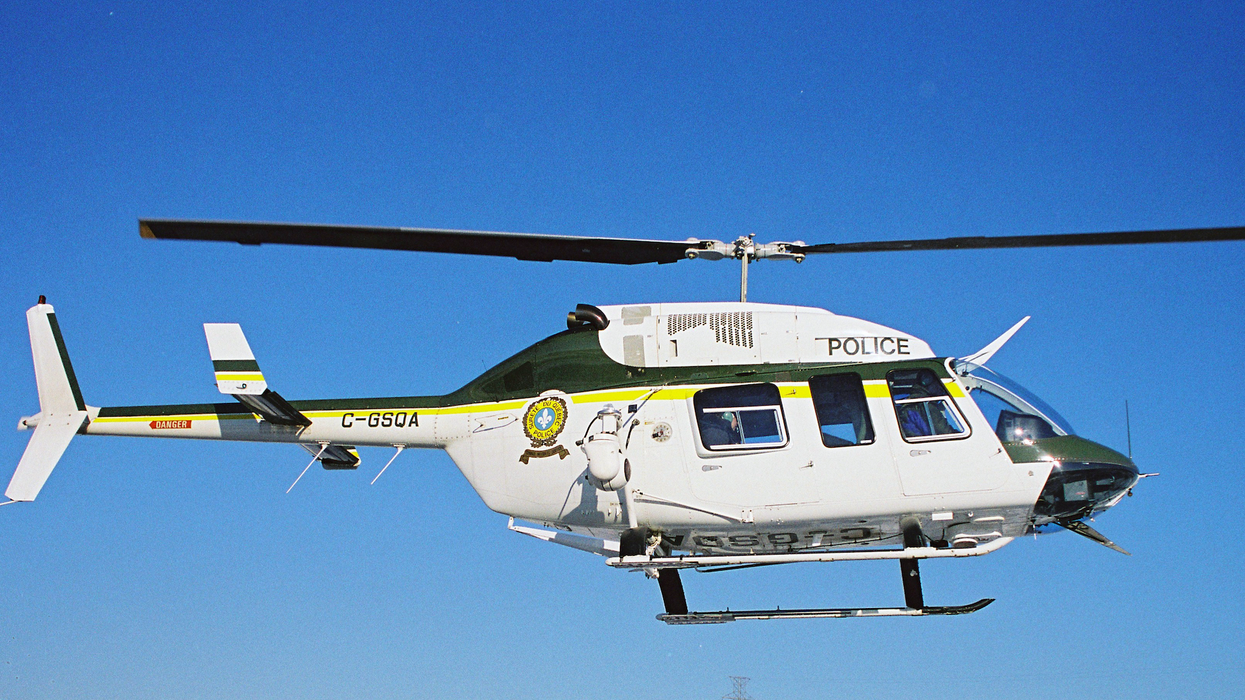 Montreal Police Borrowed An SQ Helicopter & Patrolled Montreal Hot Spots Friday Night