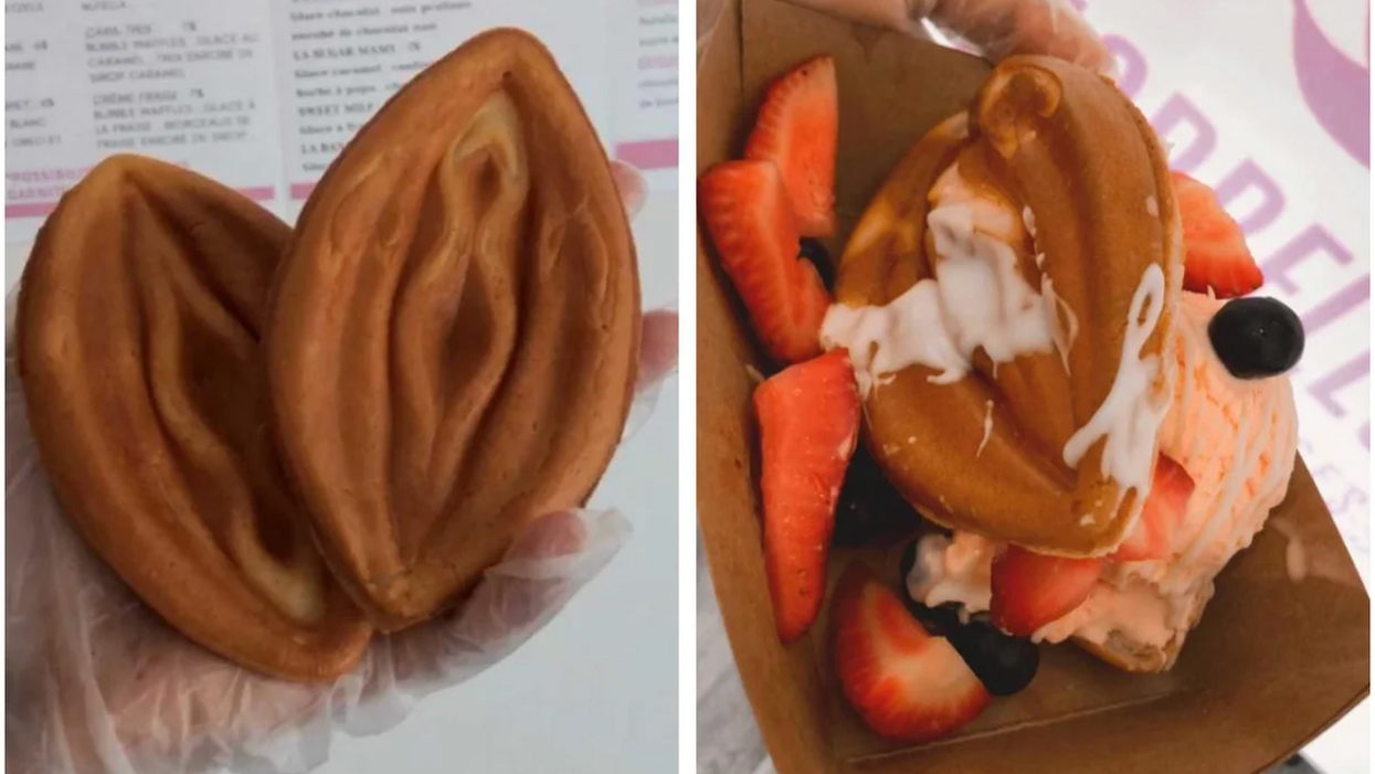 You Can Get Naughty Waffles Shaped Like A Vulva At This Spot In Montreal