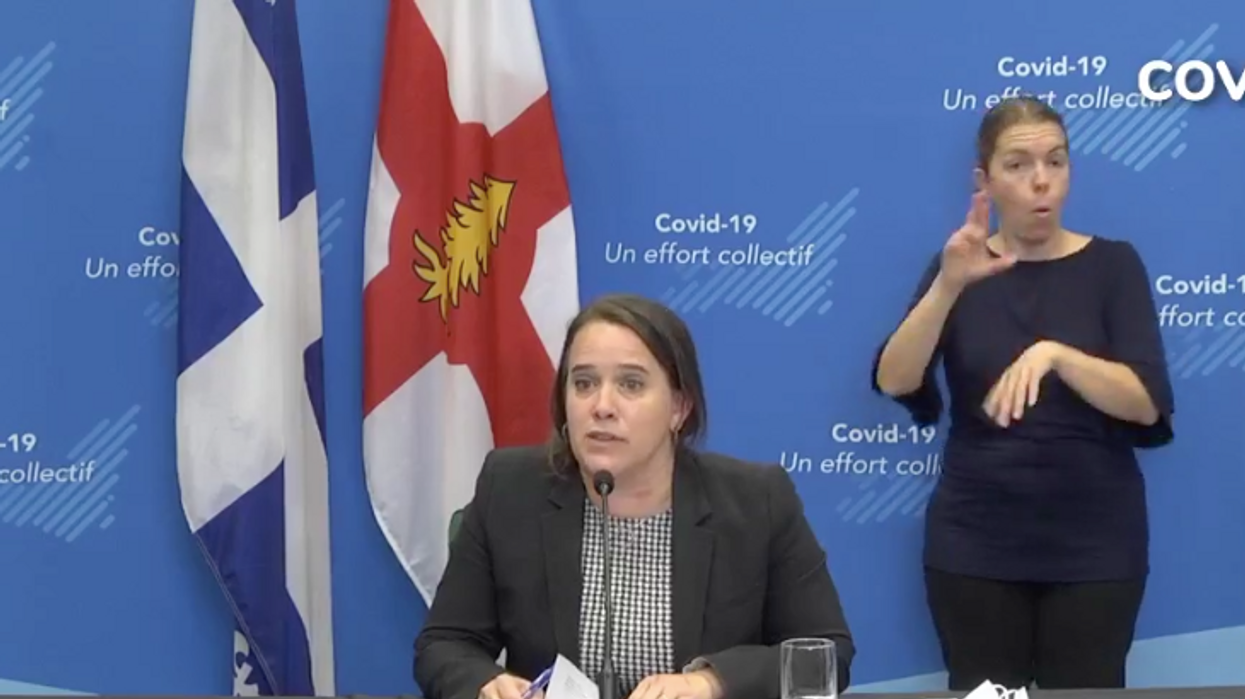 Dr. Drouin Shared Alarming Statistics About Young Montrealers' Pandemic Mental Health