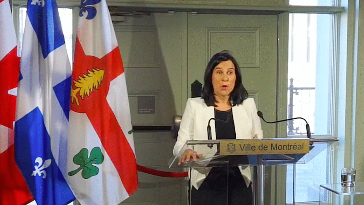 Mayor Valérie Plante Is Now Asking Montrealers To Wear Face Masks In Certain Public Spaces