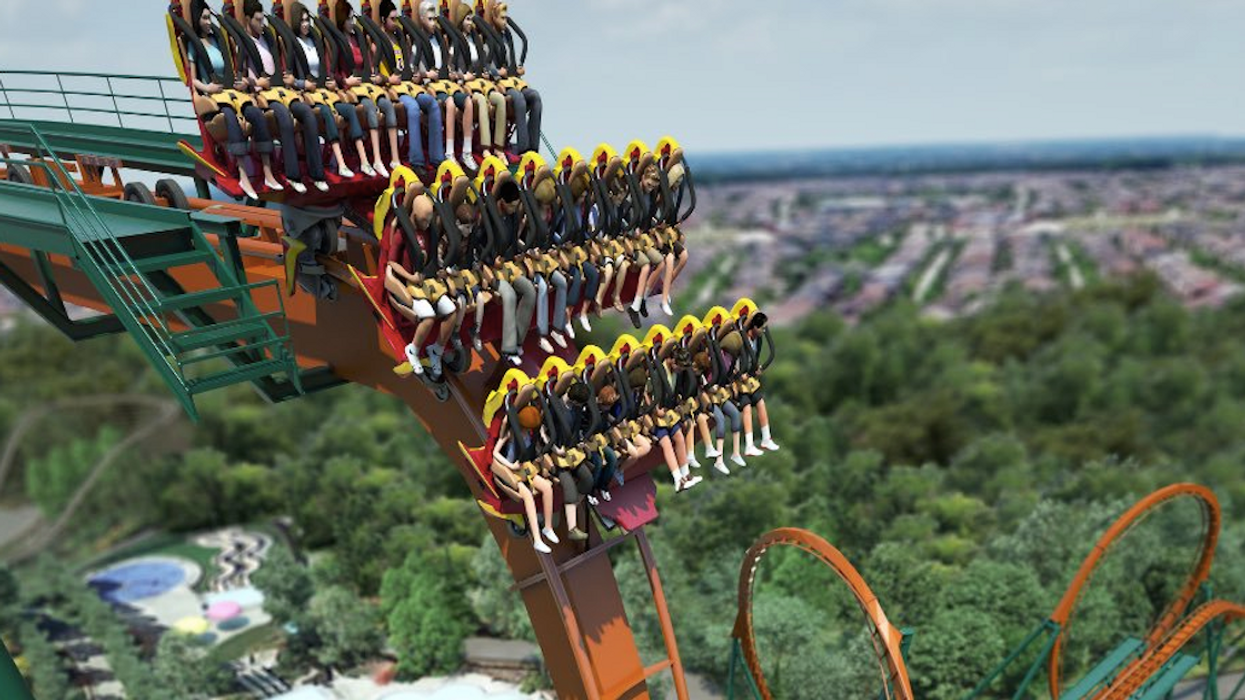 Canada's Wonderland Is Opening The Biggest and Fastest 'Dive' Roller Coaster In The World (Videos)