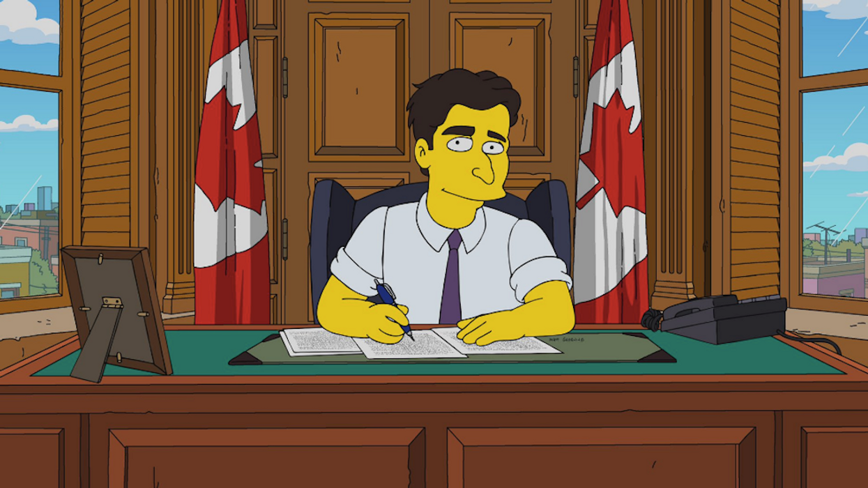 """A Canada-Themed Episode Of The """"The Simpsons"""" Featuring Justin Trudeau Is Coming This Week"""