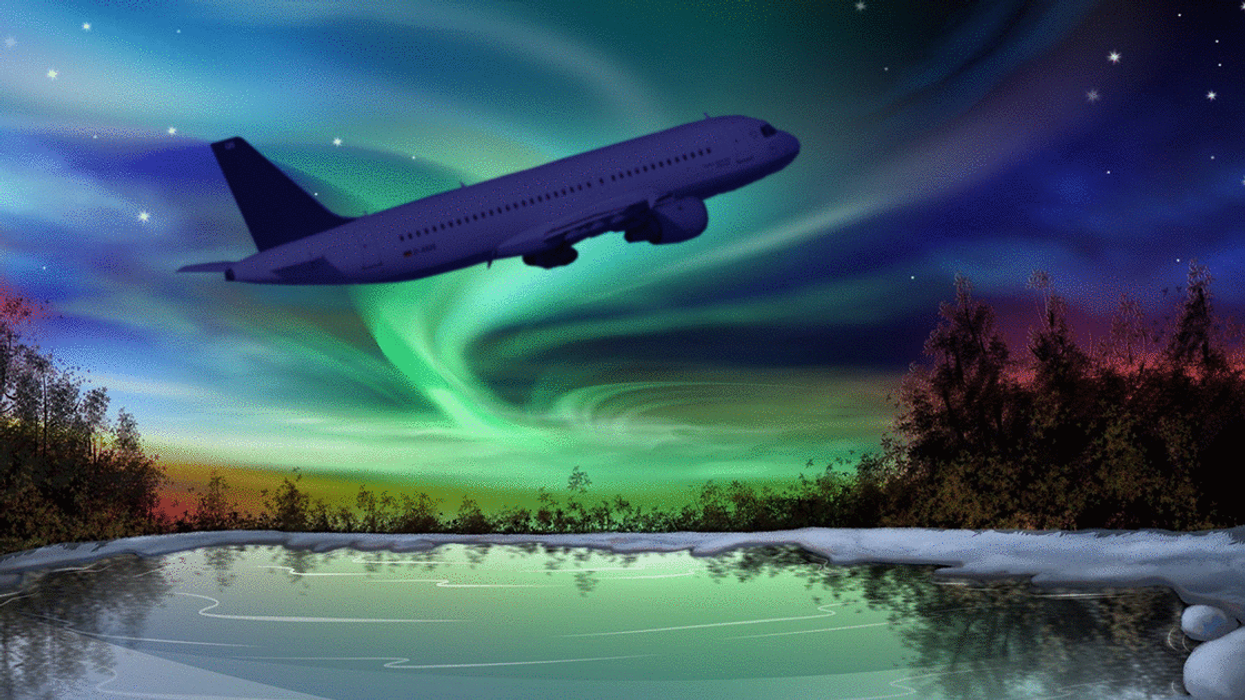 Canada Has Flights That Take You To See The Northern Lights From The Sky
