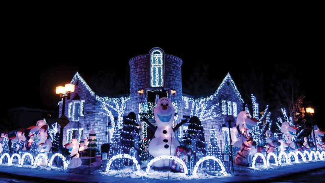 Montreal's Famous 250,000 Christmas Light House Will Soon Be Illuminated With An All-New Disney Theme