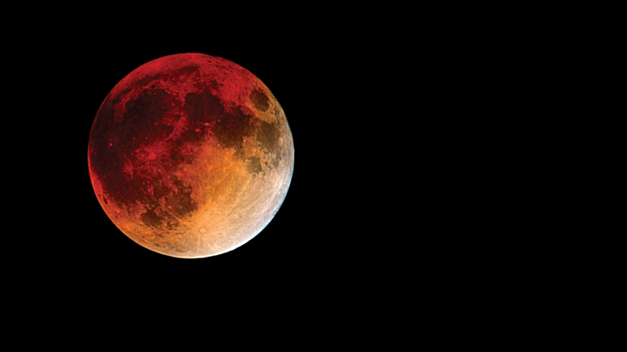 A Giant Blood Moon Will Be Visible Across Canada Next Week