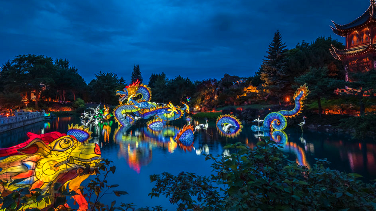 """Montreal's 2018 Botanical Gardens """"Lantern Festival"""" Theme Has Officially Been Revealed"""