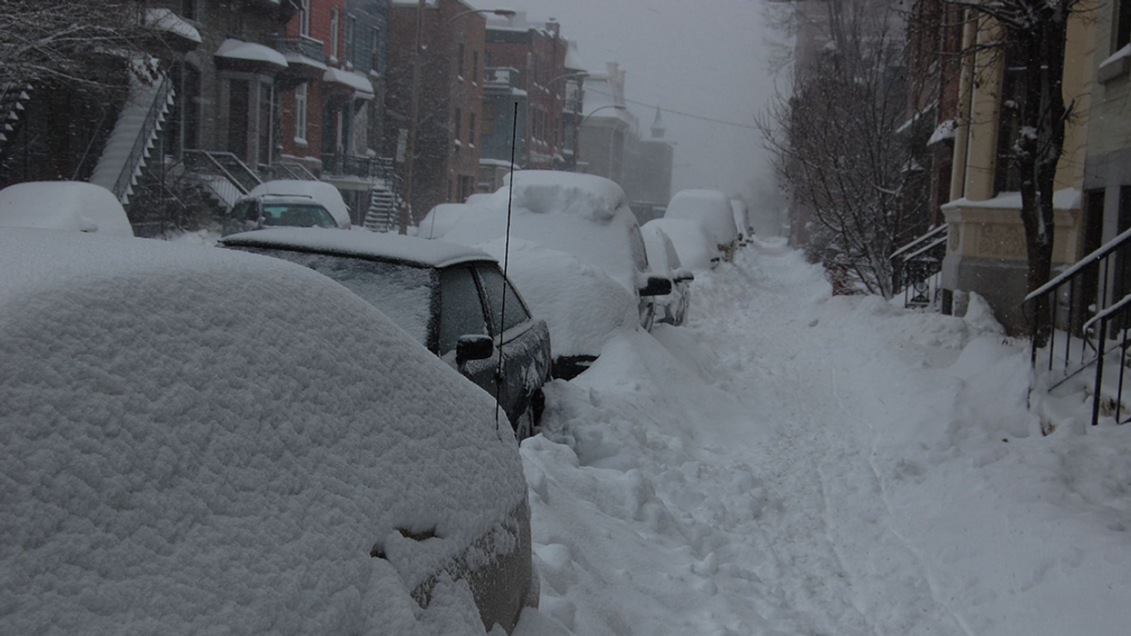 Warning: A Second Snowstorm Will Hit Montreal On Wednesday
