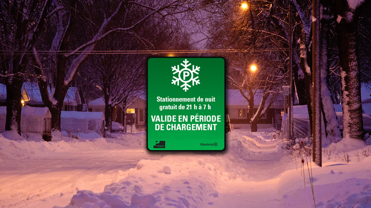 The City Of Montreal Is Offering Free Parking During Snow Removal