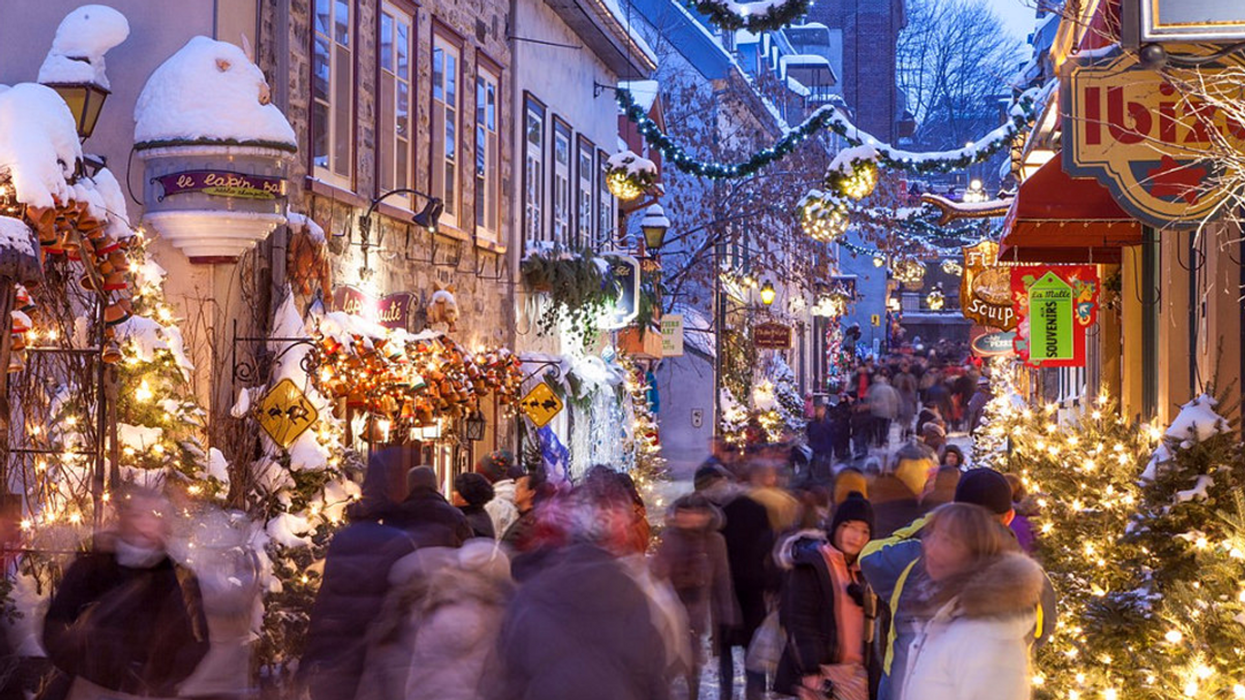 """It's Official, Quebec Ranked One Of The Most """"Christmassy"""" Place In Canada"""