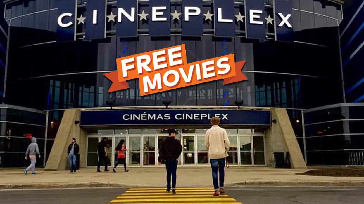Free Movies At Over 20 Cineplex Theatres Across Canada Next Week
