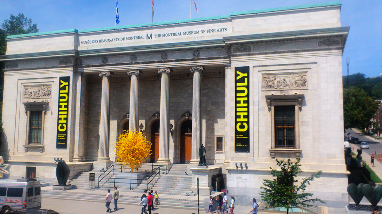 You Can Now Visit Montreal's Museum Of Fine Arts For 100% Free