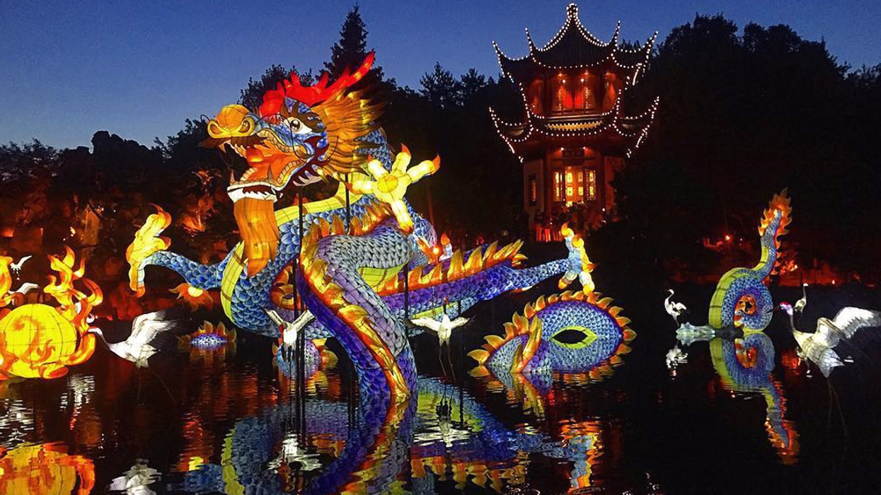 """All The Pictures You Need To See From Montreal's """"Chinese Lantern Festival"""" 2017"""