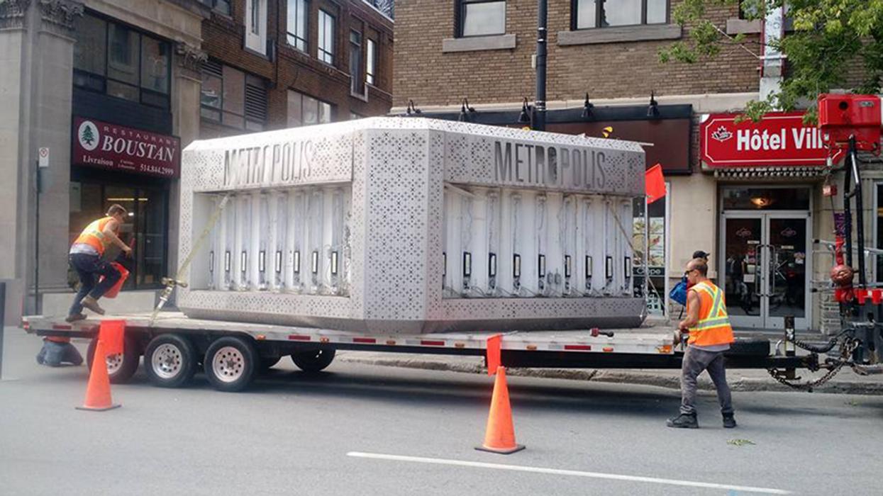"""Montreal's """"Metropolis"""" Sign Has Been Taken Down"""