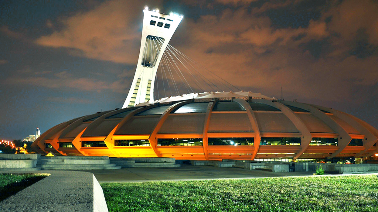 Montreal's Olympic Stadium Is Being Turned Into A Refugee Shelter