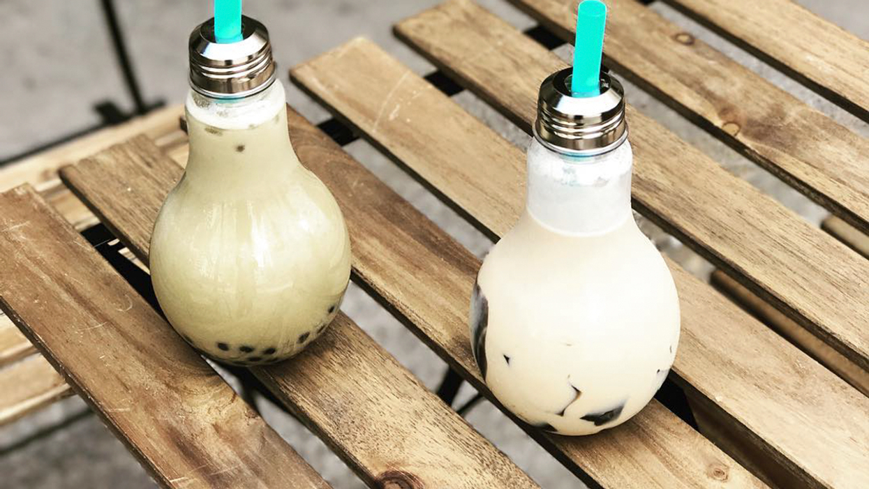 """You Can Now Get """"Light Bulb"""" Bubble Tea In Montreal"""