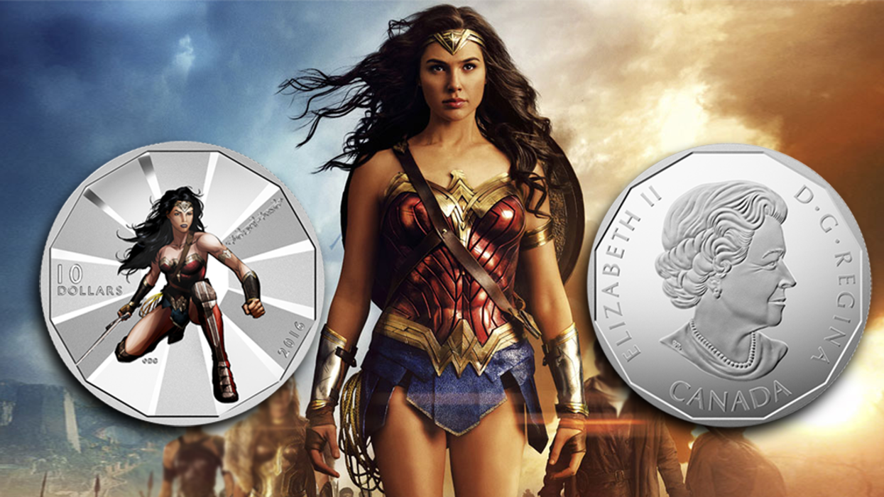 """Canada Releasing """"Wonder Woman"""" Themed $10 Coins"""