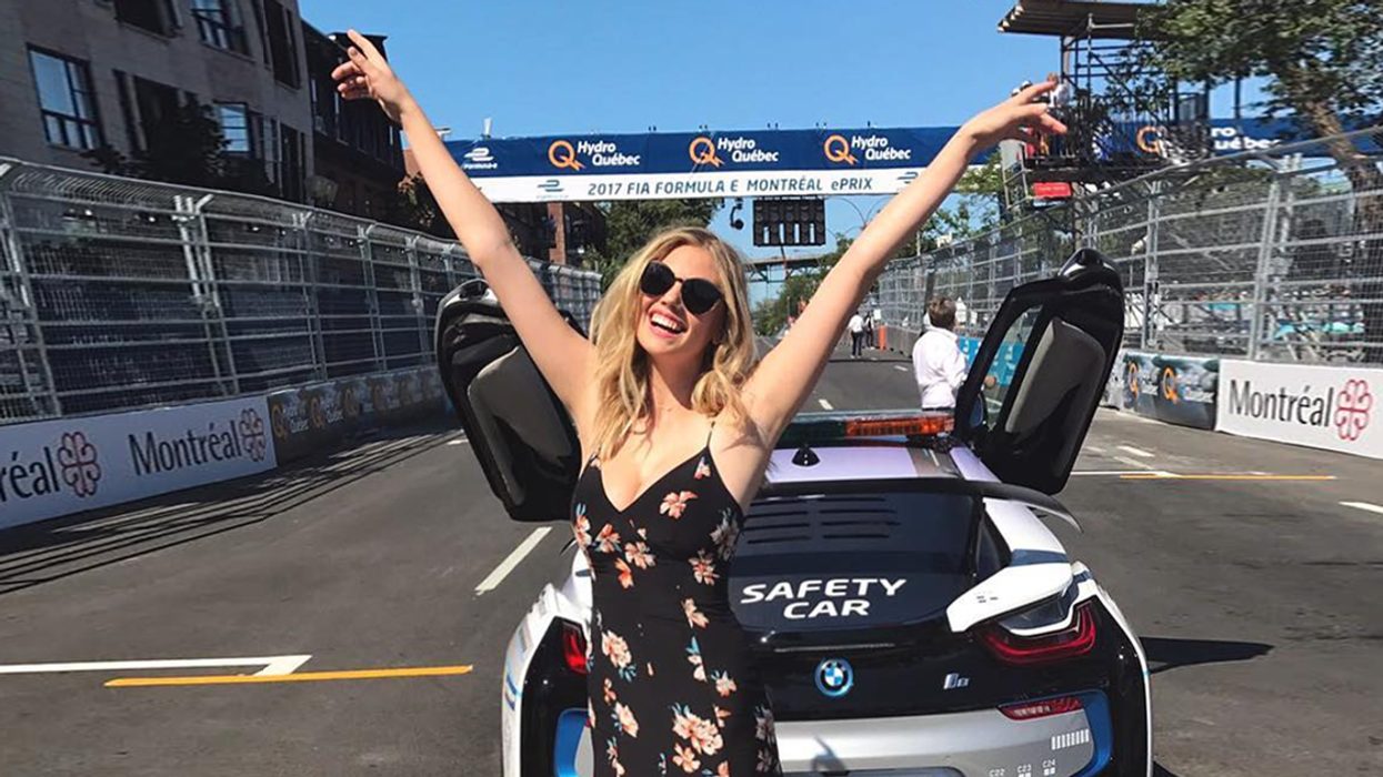 Kate Upton Spotted Partying In Downtown Montreal This Weekend